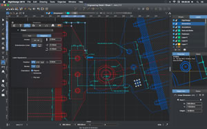 HighDesign 2015 Professional Screenshot, Engineering Detail