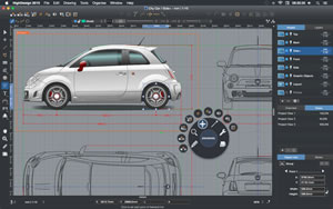 HighDesign 2015 Professional Screenshot, City Car
