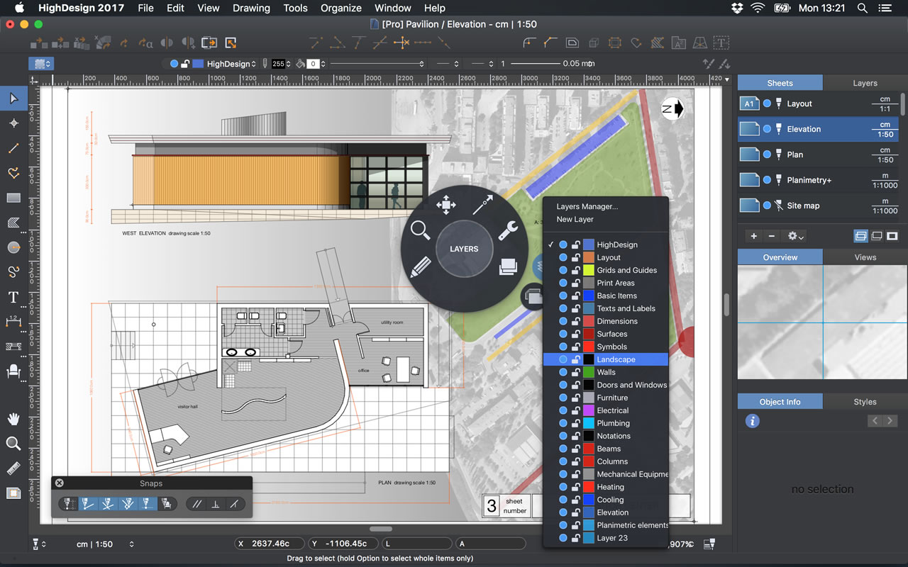 Architecture Drawing Mac highdesign - the smart cad software for mac